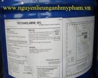 Phân phối TEA Triethanolamine giá sỉ – Gia công mỹ phẩm tốt nhất thị trường