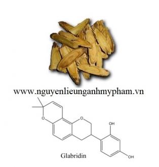 Hoạt chất Glabridin – Bán hoạt chất Glabridin, cung cấp nguyên liệu mỹ phẩm giá sỉ