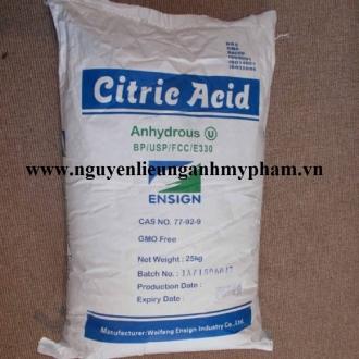 Acid Citric – Cung cấp acid citric giá sỉ tốt nhất thị trường